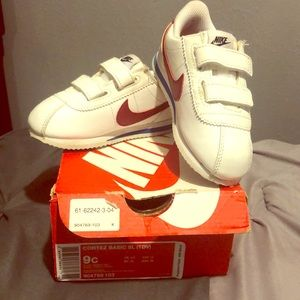 Nike Cortez toddlers 9c